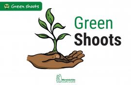 Warwickshire County Council Green Shoots Fund logo