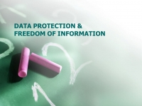 Data Protection (GDPR) and Freedom of Information