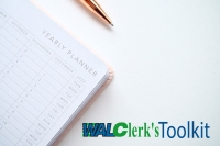 Clerk's Toolkit: The Clerk's Year