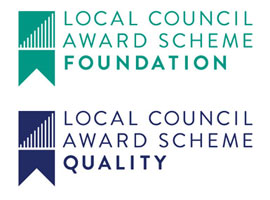 Local Council Award Scheme ribbons
